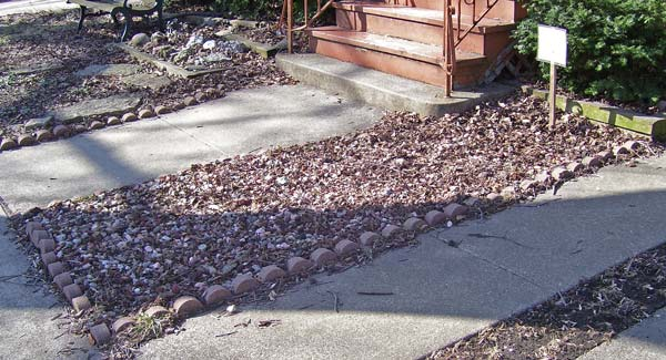 Kids can collect rocks, shells, and fossils in the Collector's Garden.